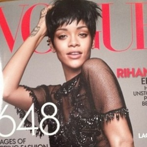 Rihanna Covers Vogue's March 2014 Issue.