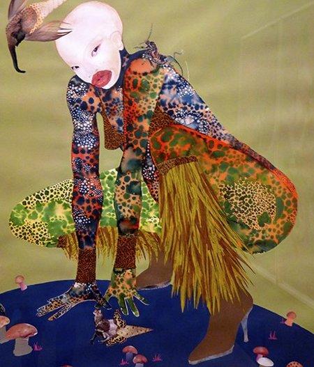 Wangechi Mutu, Kenyan Artists, African Woman Artists, Black Woman Artists