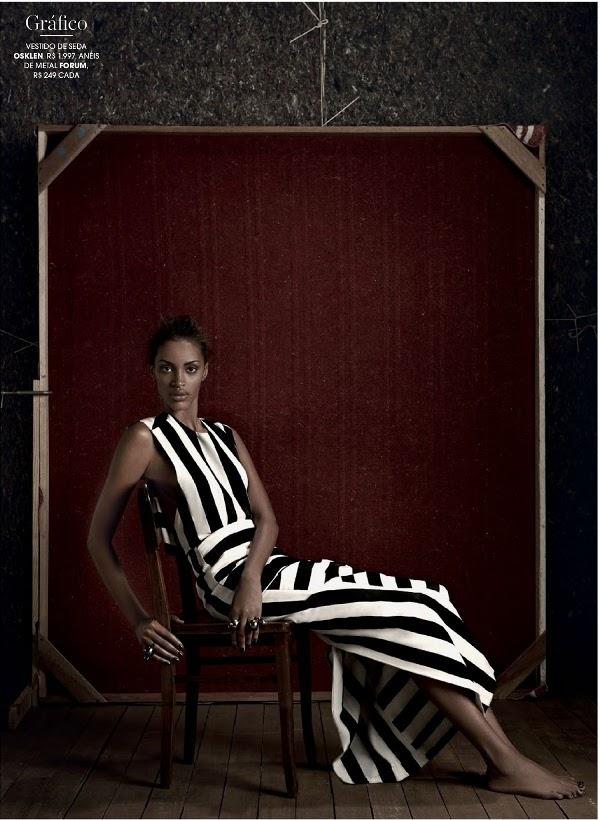 Ana Bela Santos Marie Claire Brazil, Black Fashion Models