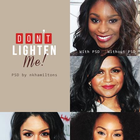 Photo Editing for Women With Dark Skin