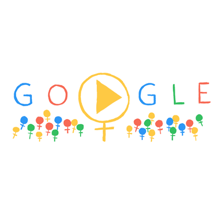 International Women's Day, Google