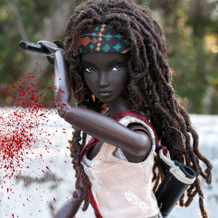 MIchonne Barbie Doll, Peewee Parker