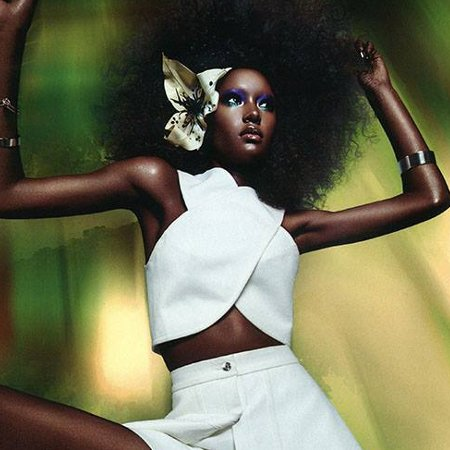 Ysaunny Brito, V Magazine, Daniel Sannwald, Black Fashion Models
