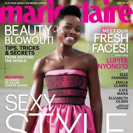 Lupita Nyong'o Marie Claire
