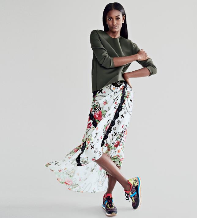 Melodie Monrose, Lucky Magazine, Patrick Demarchelier, Black Fashion Models