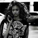 Malaika Firth Vogue Paris Mario Testino open