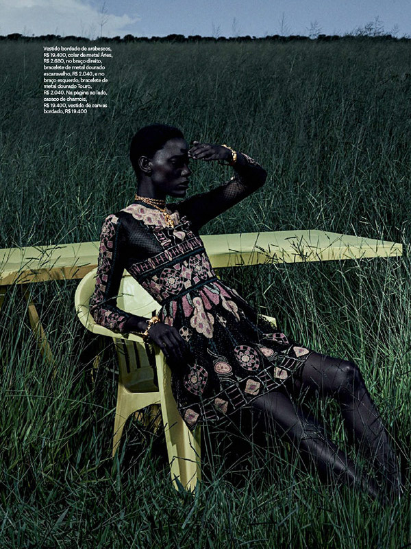Mariana Calazans, Vogue Brazil, Black Fashion Models