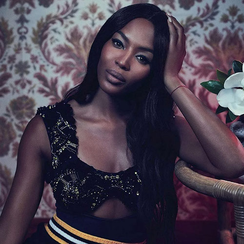 Naomi Campbell, Black Fashion Models, Vogue Australia, Emma Summerton