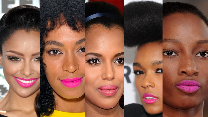 Bold Lip Colors For Spring 2014 Part 2. Think Pink