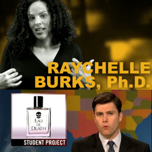 "Oops. ""Saturday Night Live"" Weekend Update Gag Misidentifies Black Female Ph.D. With Awesome Sense of Humor as Serious Male Graduate Student."