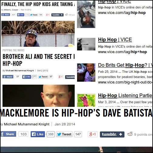 Vice Hip-hop