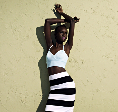 Alek Wek Chats With The Guardian About Self-Confidence And Life in South Sudan.