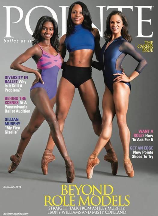 Misty Copeland, Ashely Murphy, Ebony Williams, Black Ballerinas