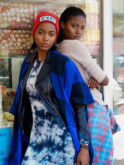 Genesis Vallejo, Alexia Palmer, Lindsey Mak Photography, Black Fashion Models