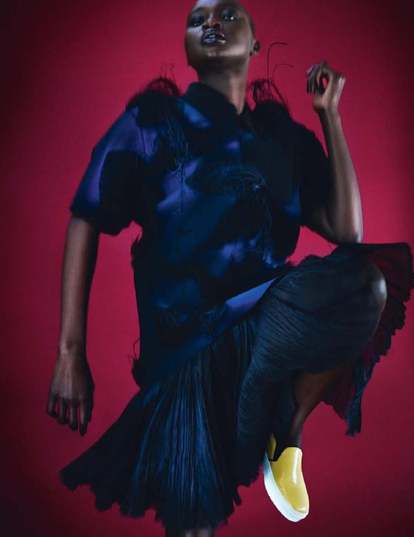 Ataui Deng, Elle France, Alex Franco, Black Fashion Models, African Fashion Models