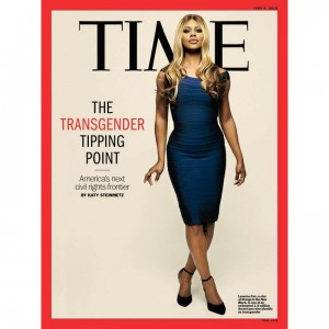 Laverne Cox Covers Time Magazine.