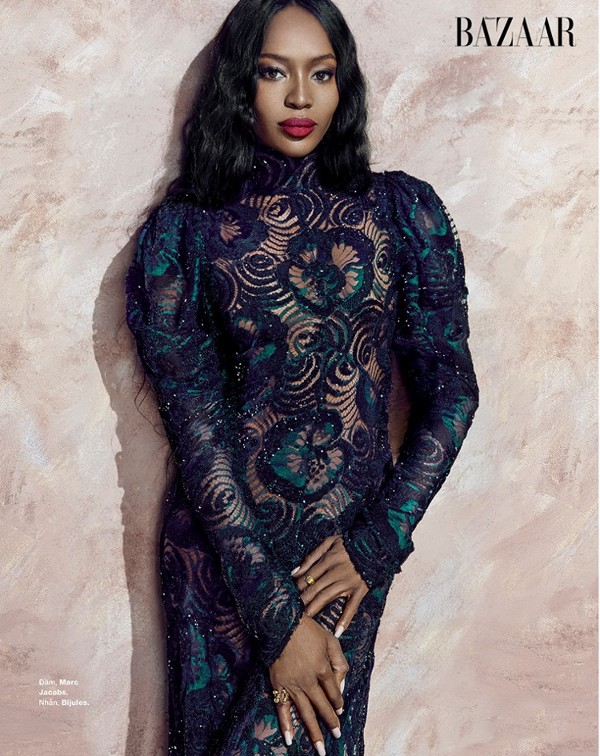 Naomi Campbell, Harper's Bazaar Vietnam, An Le