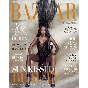 Naomi Campbell. Harper's Bazaar Vietnam. by An Le.