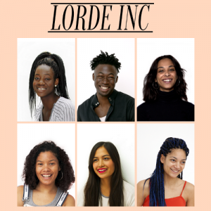 Introducing Lorde Inc.  The Modeling Agency For People of Color.