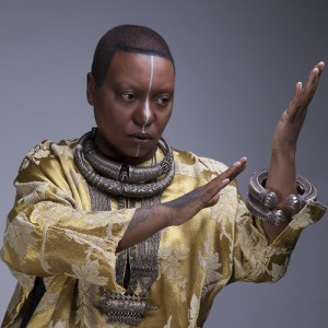 "Listen To This.  The Latest Album From Meshell Ndegeocello.  ""Comet, Come To Me""."