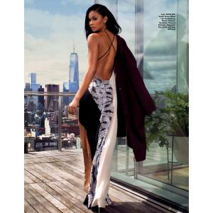 Editorials.  Chanel Iman.  Elle Malaysia.