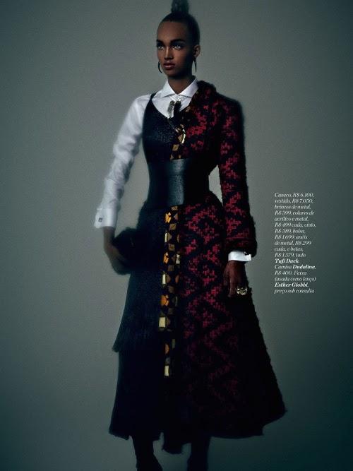 Ellen Rosa, Black Fashion Models, Brazilian Fashion Models