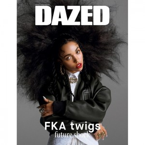 FKA Twigs Lets Her Hair Down For Dazed and Confused.