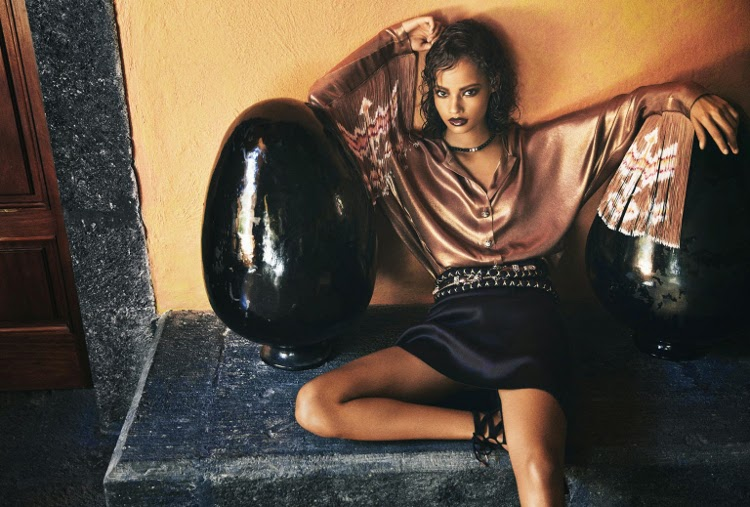 Malaika Firth Porter Magazine, Black Fashion Models, Norma Jean Roy