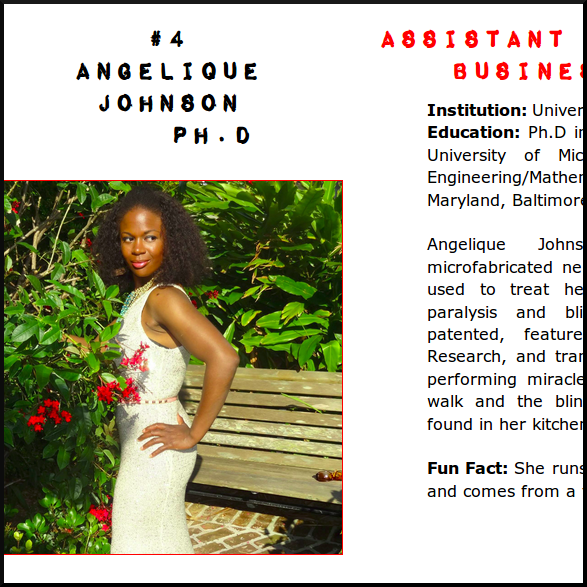 angelique johnson