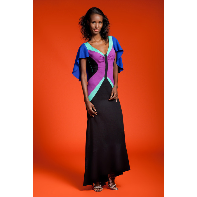 Tracy Reese Resort 2015, Fatima Siad, Black Fashion Models