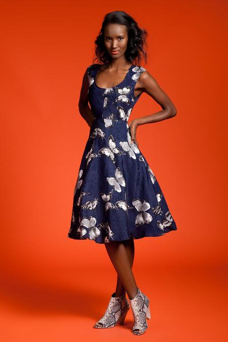 Tracy Reese Resort 2015, Fatima Siad, Black Fashion Models