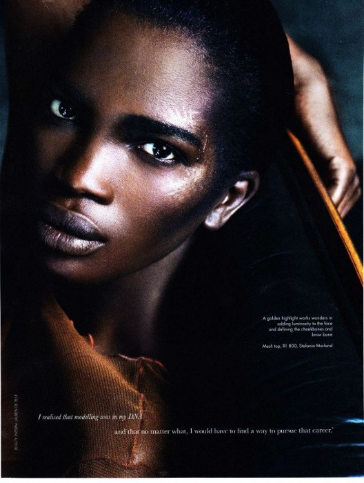Aamito Stacie Lagum, Elle South Africa, Lee Moami