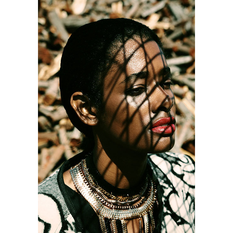 Eunice Rodriguez, Black Fashion Models, Chasseur Magazine, Dominican Fashion Models
