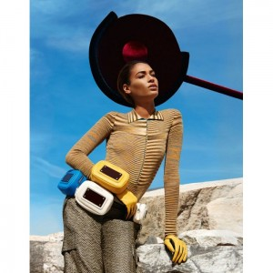 Joan Smalls Stars In Missoni's Fall/Winter 2014-2015 Campaign. by Viviane Sassen