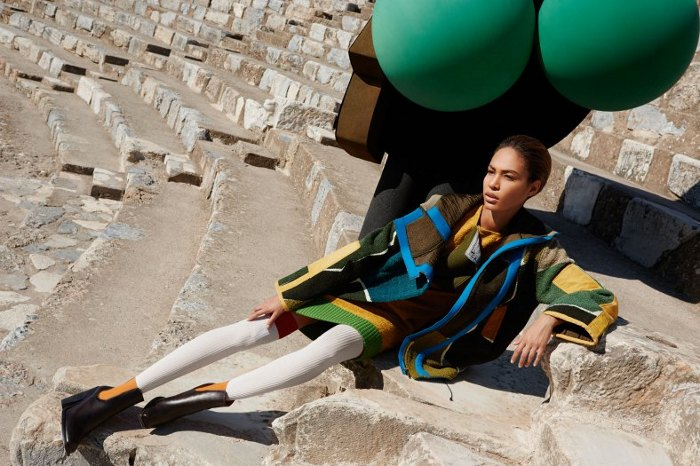 Joan Smalls, Missoni Fall Winter 2014/2015, Viviane Sassen, Black Fashion Models