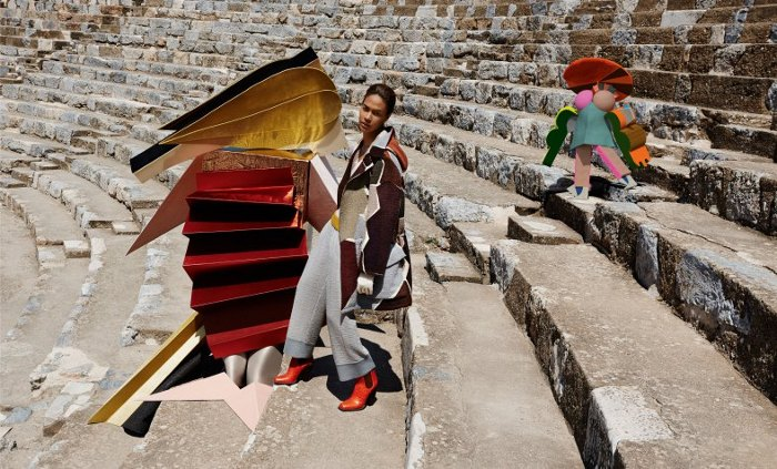 Joan Smalls, Missoni Fall Winter 2014/2015, Vivianne Sassen, Black Fashion Models