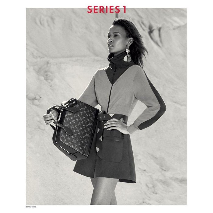 Liya Kebede, Louis Vuitton Fall 2014