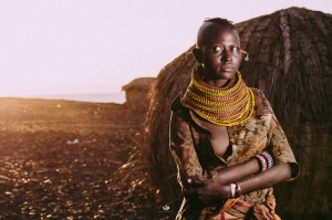 World Travels.  Kenya.  The El Molo.  Turkana. by Mutua Matheka.