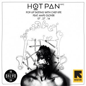 Events. HOTPAN.  Art Meets Food.