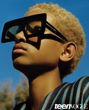 Willow Smith Features In Teen Vogue.