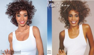 First Look. Yaya DaCosta As Whitney Houston In Upcoming Lifetime Biopic.