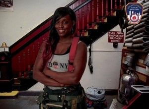 Bronx Firefighter Denae Mines Becomes First Woman Featured In Annual FDNY Calendar.