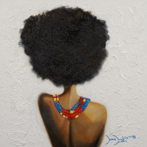 Art.  Demar Douglas. Timeless Representations of the Strength and Beauty of Black Women.
