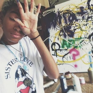 "Listen To This.  Willow Smith Takes You On A Spiritual Journey With ""8""."
