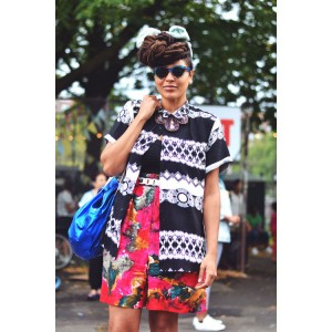 Epic Fashion Post. Street Style At Afropunk Fest. Images by Brianna Roye.