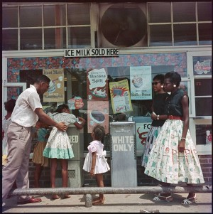 Images. Segregation Story. by Gordon Parks.