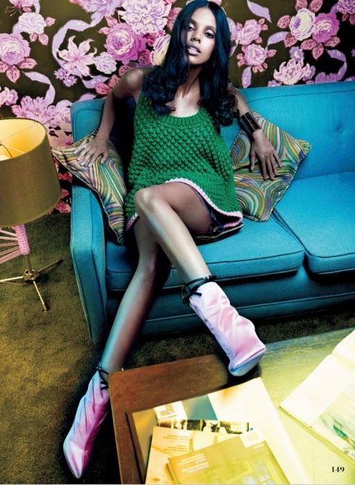 Grace Mahary, Elle Canada, Black Fashion Models