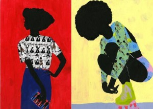 Affordable Art. Prints by Jamilla Okubo Available at AADAT's A! Marketplace.