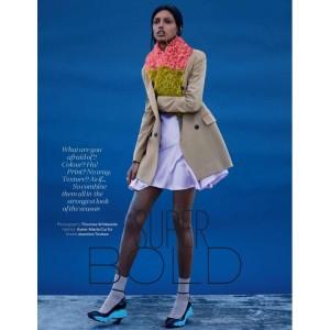 Editorials. Jasmine Tookes. Elle UK September 2014. by Thomas Whiteside.