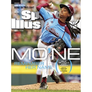Mo'Ne Davis Becomes First Little League Player To Land A National Sports Illustrated Cover.